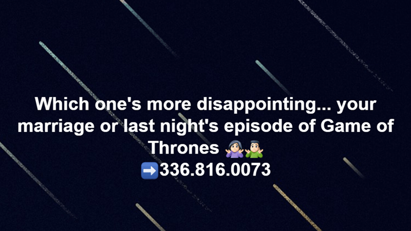 Which is Worse Divorce or Ending of Game of Thrones?